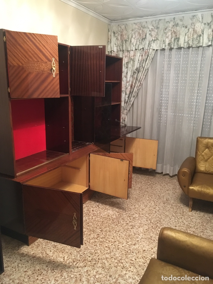 Antigüedades: Mueble aparador de salón comedor vintage retro antiguo años 60 / 70 - Foto 6 - 185994808