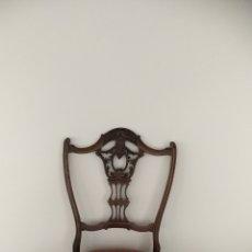 Antigüedades: SILLA DESCALZADORA HEPPELWHITE. Lote 185995488