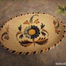 Antigüedades: ANTIGUA BANDEJA CERAMICA LA MENORA TALAVERA DE LA REINA. Lote 186016023