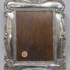 Antigüedades: MARCO DE PLATA. PERU. 900MM. Lote 186017952