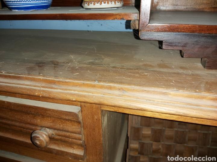 Antigüedades: Aparador provenzal en madera de roble para restaurar. - Foto 5 - 57442003
