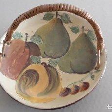 Antigüedades: FRUTERO DE CERÁMICA LA BISBAL . Lote 186025137