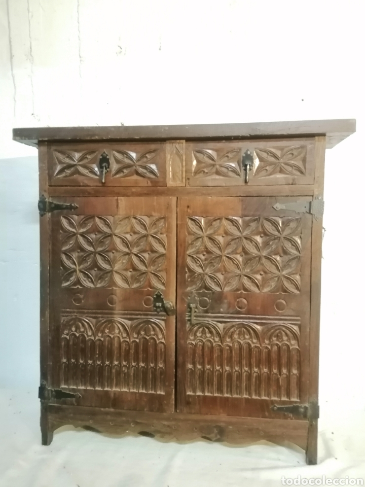 ARMARIO DE PASILLO ANTIGUO (Antigüedades - Muebles Antiguos - Armarios Antiguos)