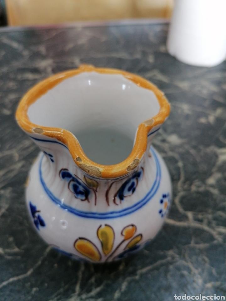 Antigüedades: Jarra de cerámica talavera - Foto 2 - 186057995