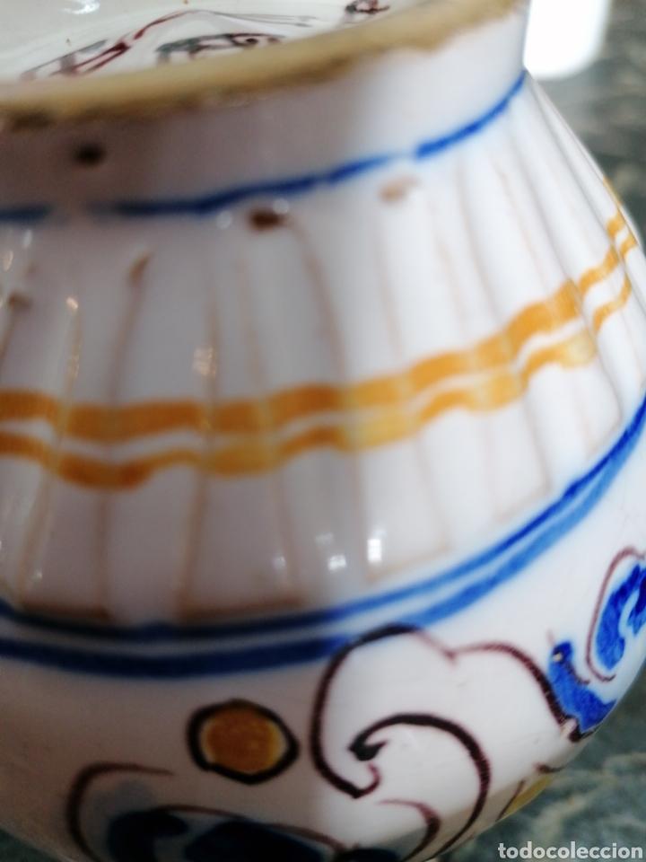 Antigüedades: Jarra de cerámica talavera - Foto 5 - 186057995