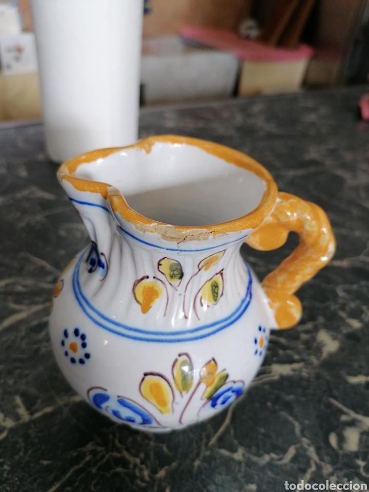 Antigüedades: Jarra de cerámica talavera - Foto 6 - 186057995