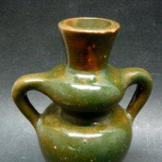 Antigüedades: ANTIGUA CERAMICA ALFARERIA BOTIJA BOTIJILLA VIDRIADA. Lote 186078953