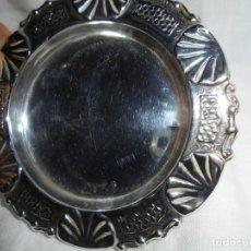 Antigüedades: CENICERO DE PLATA DOS CUÑOS ESTRELLA Y OTRO. Lote 186105608