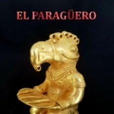 Antigüedades: CHAMAN ZOOMORFICO HACIENDO OFRENDA PRECOLOMBINA QUIMBAYA DE ORO TUMBAGA PESO 83 GRAM - Nº107. Lote 186106186