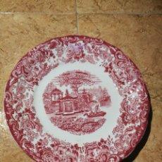 Antigüedades: ANTIGUO PLATO LA CARTUJA. Lote 186122413