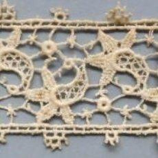 Antigüedades: ANTIGUO ENTREDOS DE ENCAJE GUIPUR S. XIX. Lote 186136120