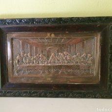 Antigüedades: PRECIOSA Y ANTIGUA SANTA CENA DE PEQUEÑO TAMAÑO. Lote 186143051