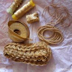 Antigüedades: RESTOS DE PARA BORDAR. Lote 186147121