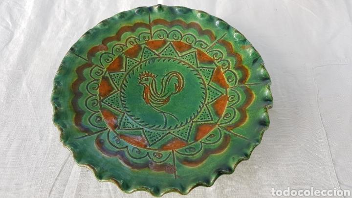 PLATO CERAMICA UBEDA AÑOS 80 ALMARZA W (Antigüedades - Porcelanas y Cerámicas - Úbeda)