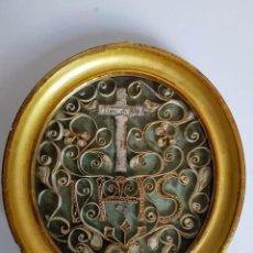 Antigüedades: RELICARIO ITALIANO, FINALES SIGLO XVIII. Lote 186239422