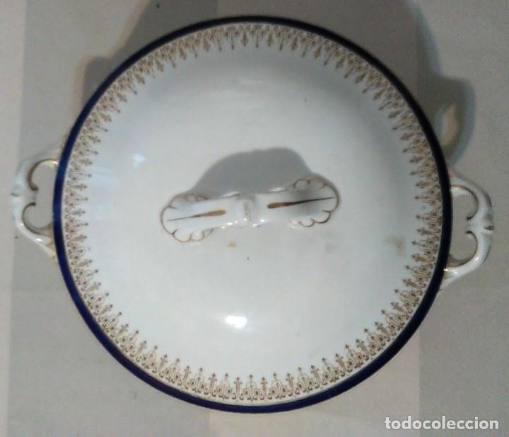 Antigüedades: Sopera wedgwood made in england porcelana inglesa - Foto 3 - 186224347