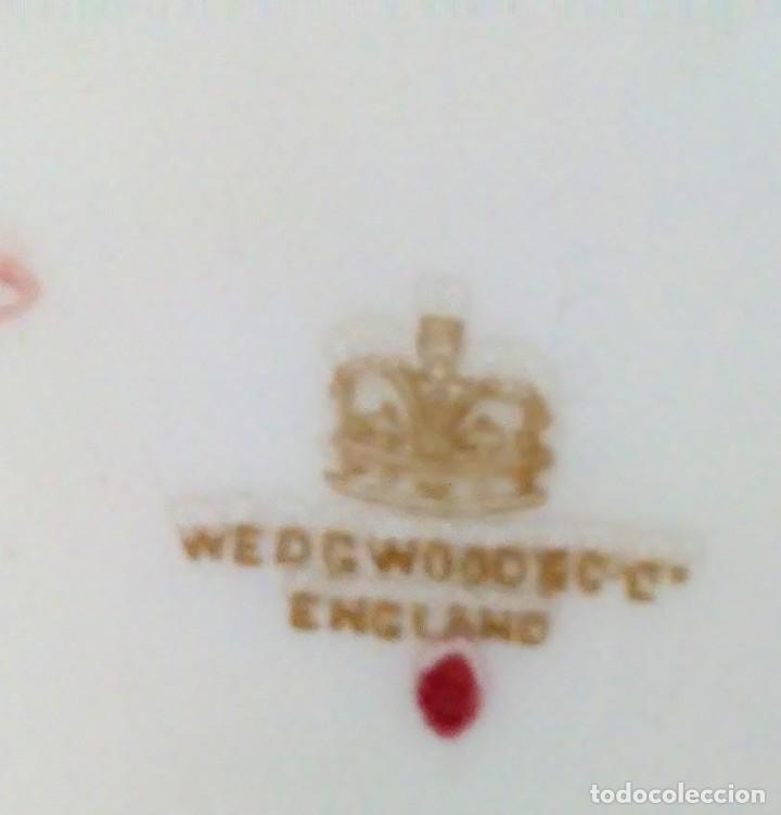 Antigüedades: Sopera wedgwood made in england porcelana inglesa - Foto 5 - 186224347