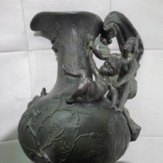 Antigüedades: JARRA DE ESTAÑO. Lote 186274872
