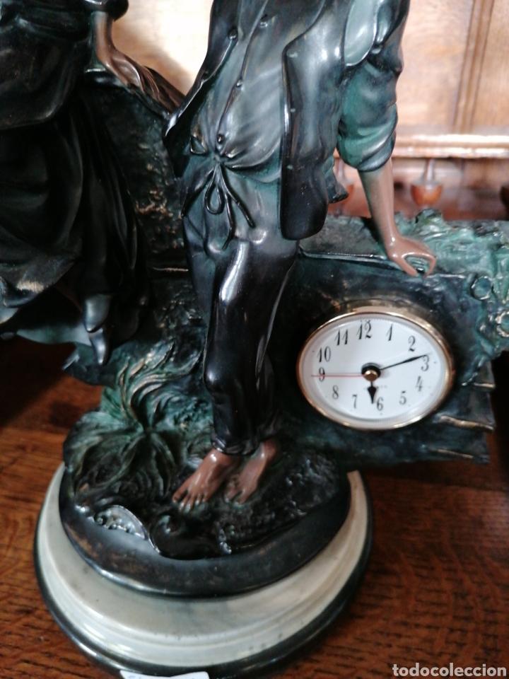 Antigüedades: Escultura de color de bronce envejecido - Foto 2 - 186289962