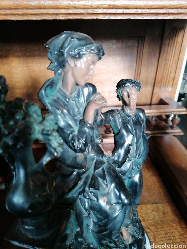 Antigüedades: Escultura de color de bronce envejecido - Foto 3 - 186289962