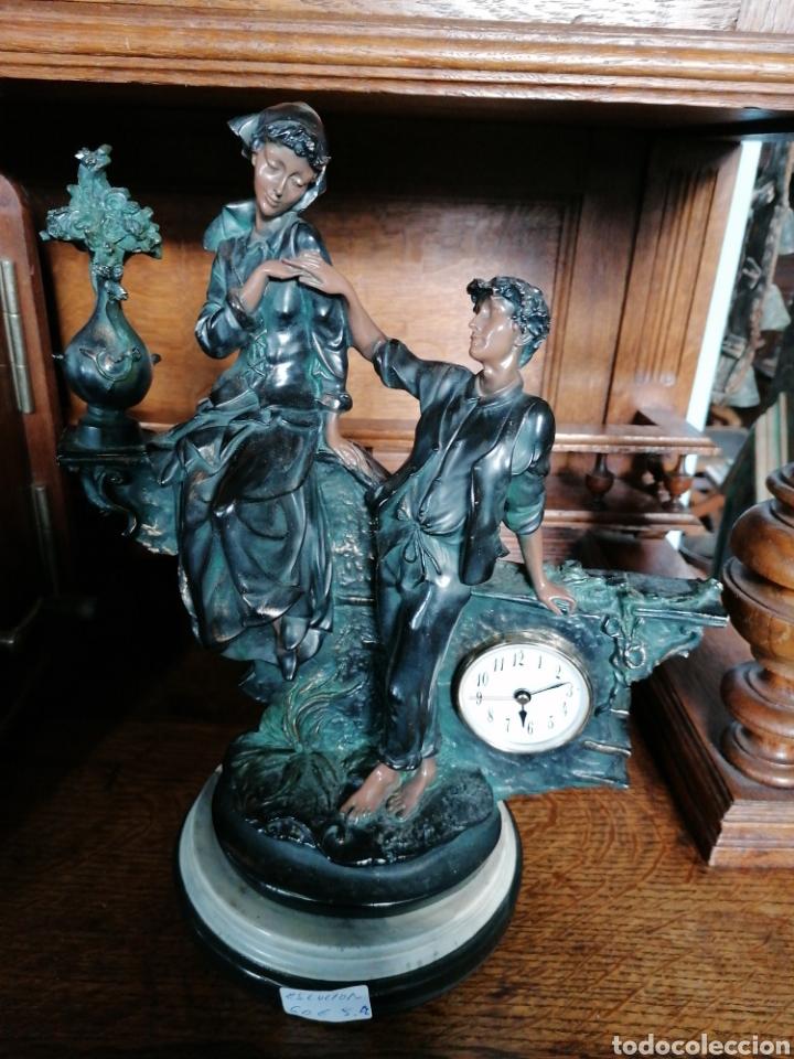 Antigüedades: Escultura de color de bronce envejecido - Foto 7 - 186289962