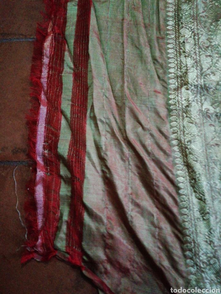 Antigüedades: Tela para sari - Foto 3 - 186312105