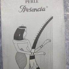 Antigüedades: 10 OVILLOS PERLÉ EGIPCIO PRESENCIA Nº 5 PLATA. COLOR CRUDO. OVILLOS DE 50 GRAMOS.. Lote 201548418