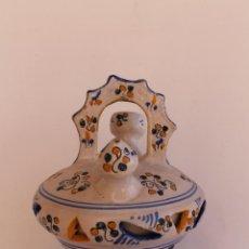 Antigüedades: BOTIJO DE CERAMICA DE TALAVERA ALFAR SASO. Lote 186325927