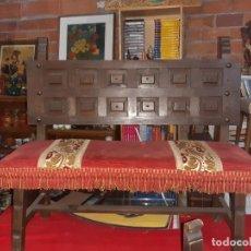 Antigüedades: BANCO CASTELLANO . Lote 186329213