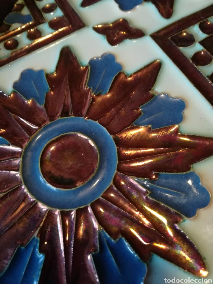 Antigüedades: Azulejo antiguo Arista Trianero - Foto 3 - 186341473