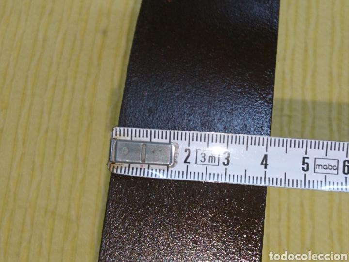 Antigüedades: CAMPANA ANTIGUA BRONCE 11cm DIAMETRO. CUELGA FLEJE FORJA. SONIDO SIN ROTOS NI GRIETAS ACUSTICAS. - Foto 11 - 186343653