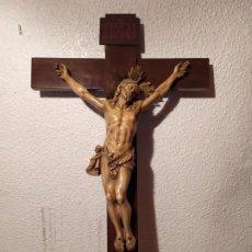 Antigüedades: CRISTO MADERA . Lote 186361203