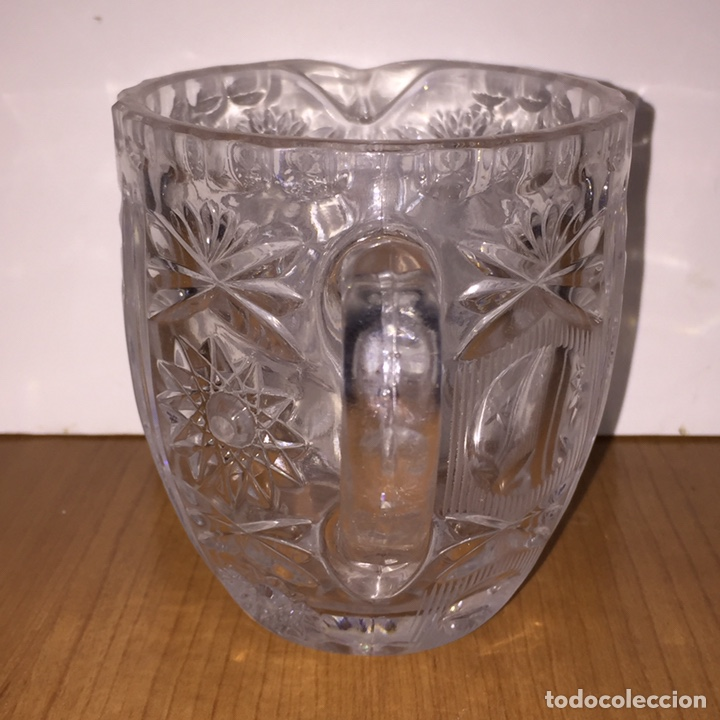Antigüedades: Jarra Cristal tallado - Foto 3 - 186362746