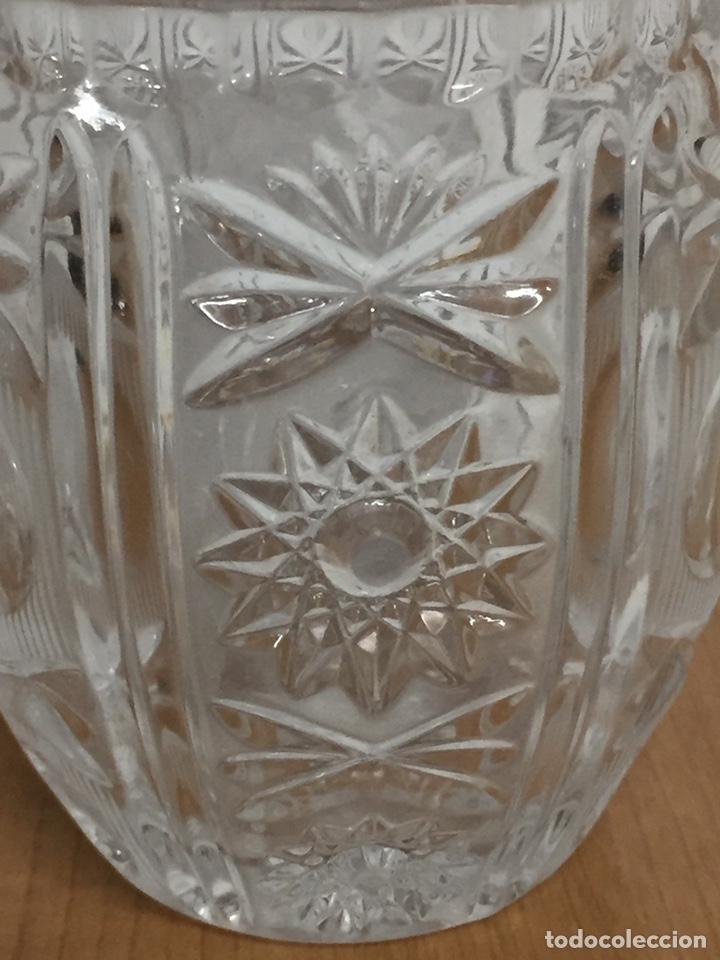 Antigüedades: Jarra Cristal tallado - Foto 7 - 186362746