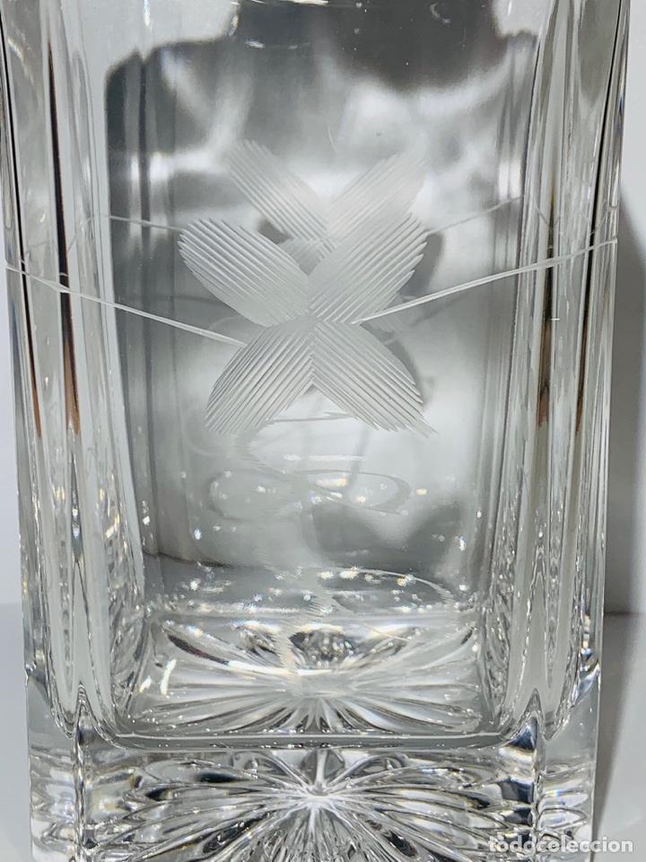 Antigüedades: Botella / Decantador / Licorera Whisky 75cl. Royal Cristal Rock y Plata. Siena. '70s. Impecable. - Foto 10 - 186386962