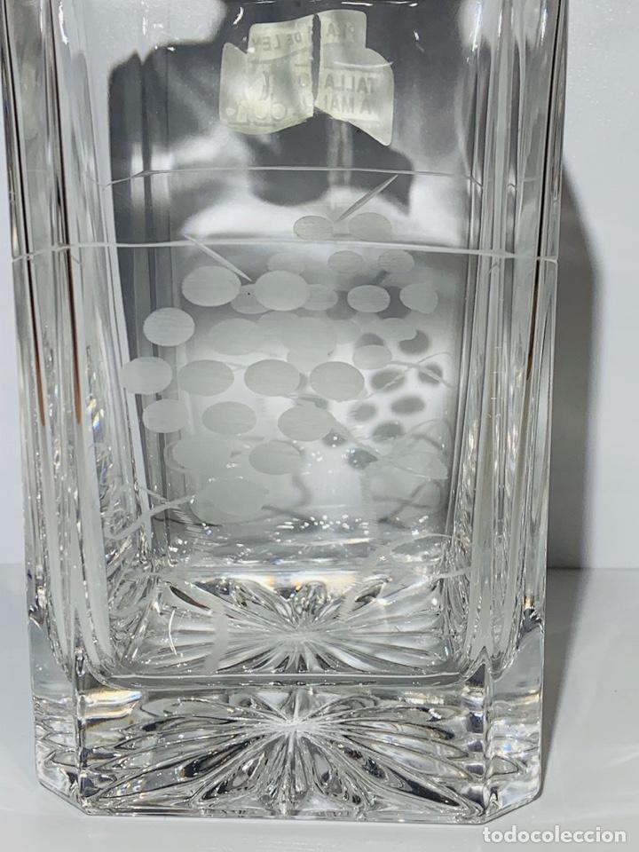 Antigüedades: Botella / Decantador / Licorera Whisky 75cl. Royal Cristal Rock y Plata. Siena. '70s. Impecable. - Foto 11 - 186386962