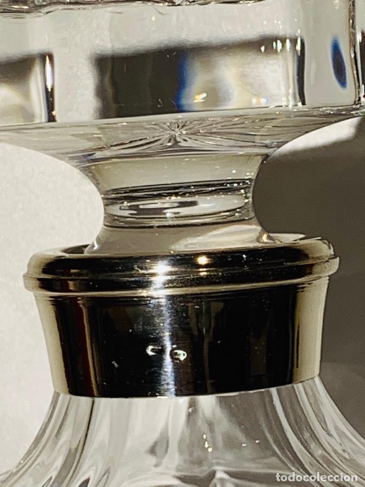 Antigüedades: Botella / Decantador / Licorera Whisky 75cl. Royal Cristal Rock y Plata. Siena. '70s. Impecable. - Foto 14 - 186386962