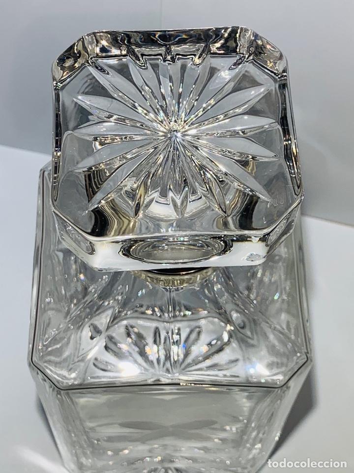 Antigüedades: Botella / Decantador / Licorera Whisky 75cl. Royal Cristal Rock y Plata. Siena. '70s. Impecable. - Foto 15 - 186386962