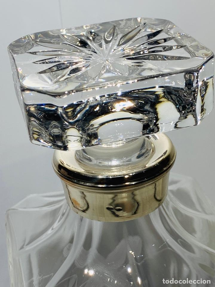 Antigüedades: Botella / Decantador / Licorera Whisky 75cl. Royal Cristal Rock y Plata. Siena. '70s. Impecable. - Foto 16 - 186386962