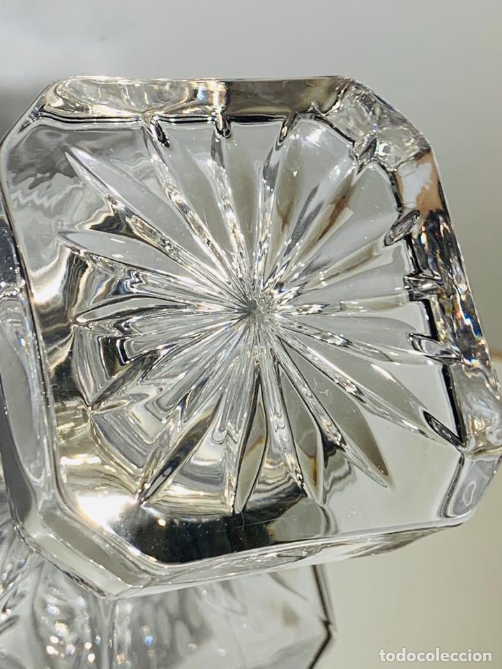 Antigüedades: Botella / Decantador / Licorera Whisky 75cl. Royal Cristal Rock y Plata. Siena. '70s. Impecable. - Foto 18 - 186386962
