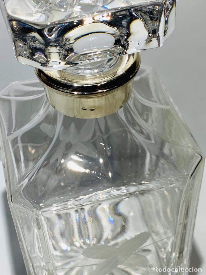 Antigüedades: Botella / Decantador / Licorera Whisky 75cl. Royal Cristal Rock y Plata. Siena. '70s. Impecable. - Foto 21 - 186386962