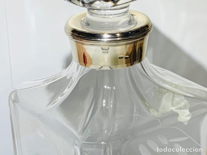 Antigüedades: Botella / Decantador / Licorera Whisky 75cl. Royal Cristal Rock y Plata. Siena. '70s. Impecable. - Foto 22 - 186386962