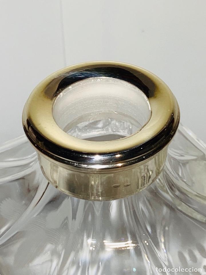 Antigüedades: Botella / Decantador / Licorera Whisky 75cl. Royal Cristal Rock y Plata. Siena. '70s. Impecable. - Foto 23 - 186386962