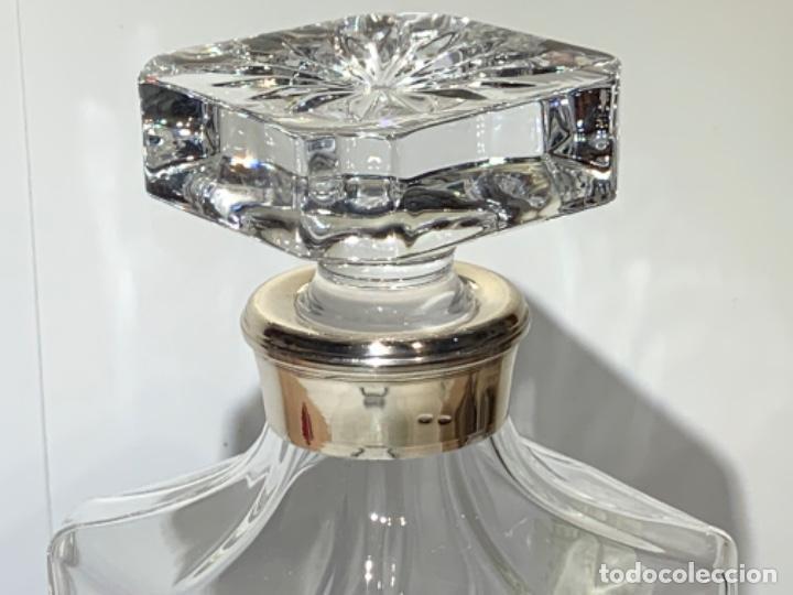 Antigüedades: Botella / Decantador / Licorera Whisky 75cl. Royal Cristal Rock y Plata. Siena. '70s. Impecable. - Foto 24 - 186386962