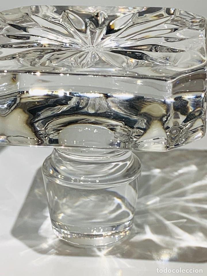 Antigüedades: Botella / Decantador / Licorera Whisky 75cl. Royal Cristal Rock y Plata. Siena. '70s. Impecable. - Foto 25 - 186386962
