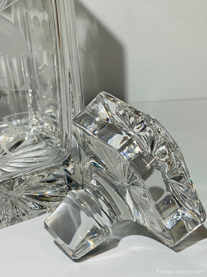Antigüedades: Botella / Decantador / Licorera Whisky 75cl. Royal Cristal Rock y Plata. Siena. '70s. Impecable. - Foto 27 - 186386962