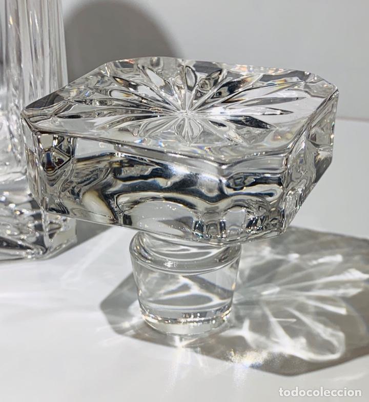 Antigüedades: Botella / Decantador / Licorera Whisky 75cl. Royal Cristal Rock y Plata. Siena. '70s. Impecable. - Foto 28 - 186386962