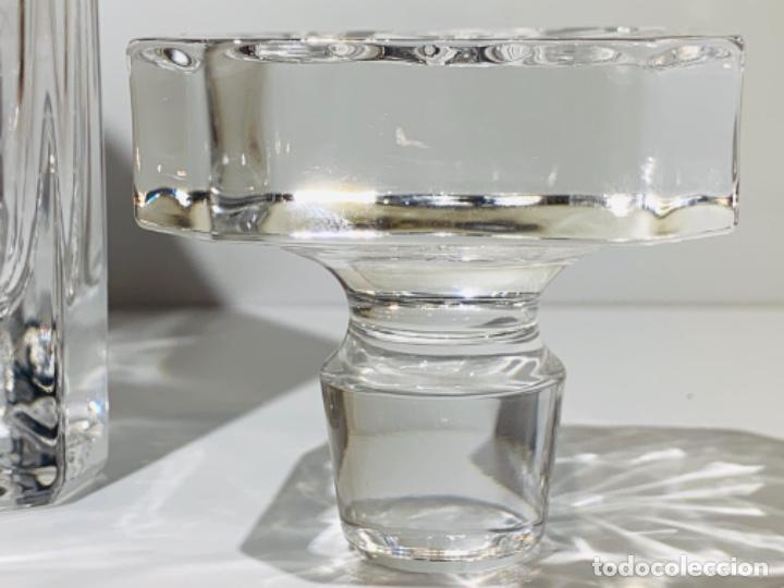 Antigüedades: Botella / Decantador / Licorera Whisky 75cl. Royal Cristal Rock y Plata. Siena. '70s. Impecable. - Foto 32 - 186386962
