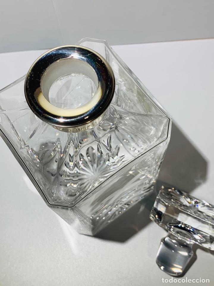 Antigüedades: Botella / Decantador / Licorera Whisky 75cl. Royal Cristal Rock y Plata. Siena. '70s. Impecable. - Foto 36 - 186386962