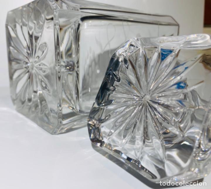Antigüedades: Botella / Decantador / Licorera Whisky 75cl. Royal Cristal Rock y Plata. Siena. '70s. Impecable. - Foto 37 - 186386962